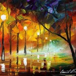 The Dying Night by Leonid Afremov